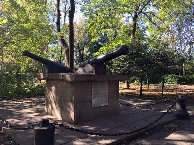 «Пушки» — памятник зарождению металлургии в Липецке