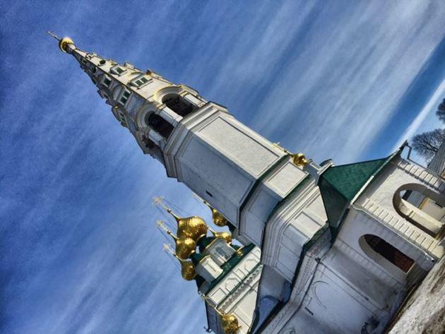 Приволжск. Никольский женский монастырь. Церковь Николая Чудотворца
