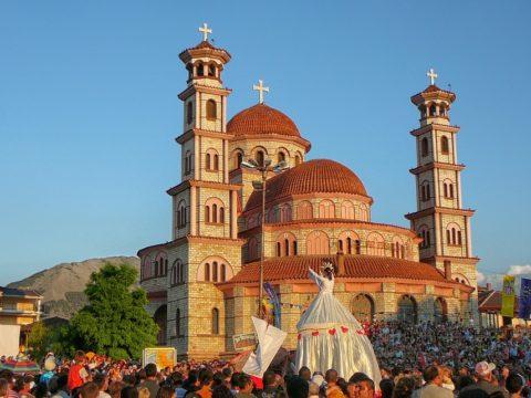Корча, Албания