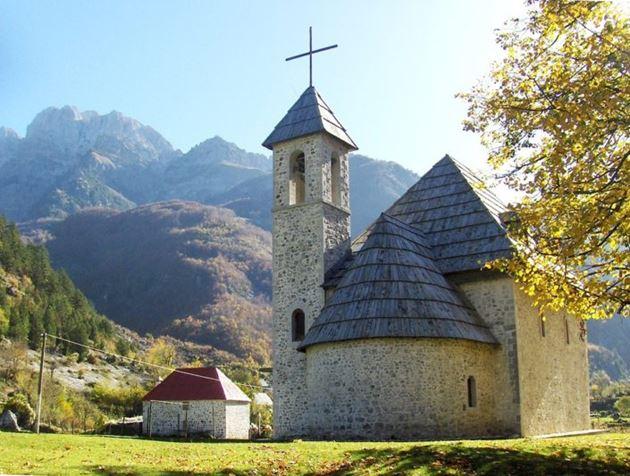 Церковь в селе Тети, Албания
