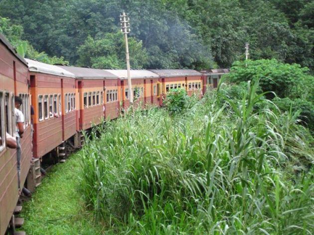 Поезд из Коломбо в Канди, Шри-Ланка