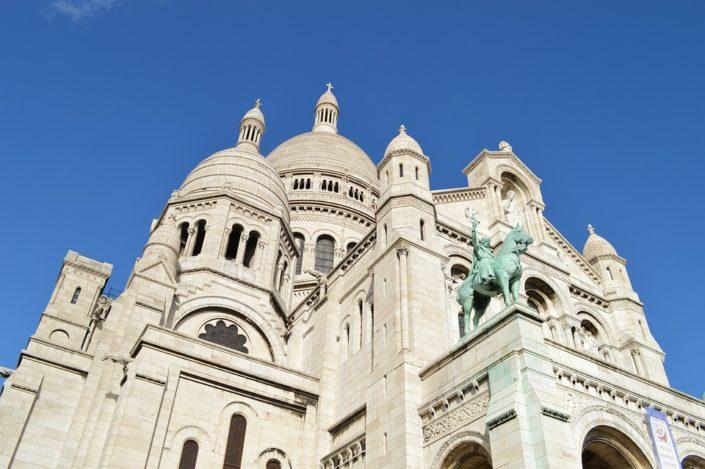 Базилика Сакре-Кёр, Париж, Франция