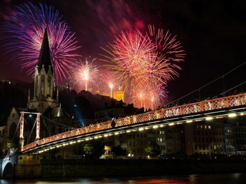 Лион, Франция, фестиваль