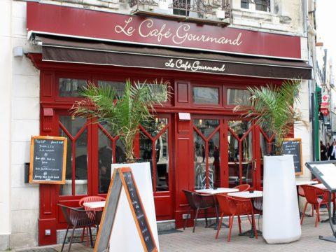 Франция, кафе