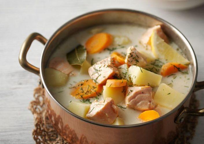 лохикейто - рыбный суп с молоком