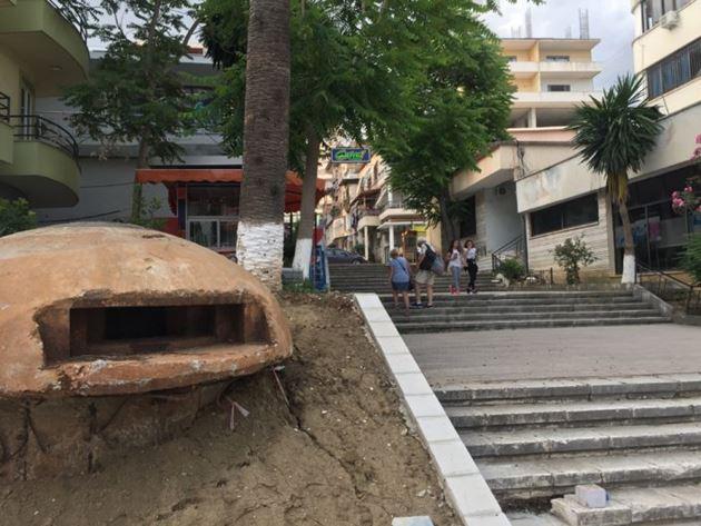 Албания, Саранда, бункер