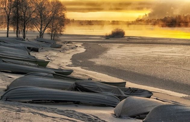 Финляндия побережье