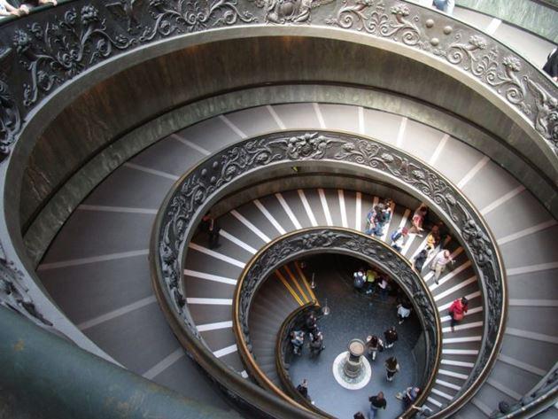ватикан лестница