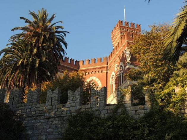 генуя замок албертис