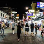 улица Каосан и окрестности