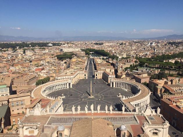 Ватикан, площадь
