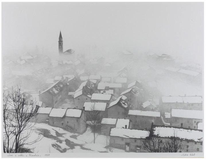 Элио Чиол Снег и туман в Чимолайсе