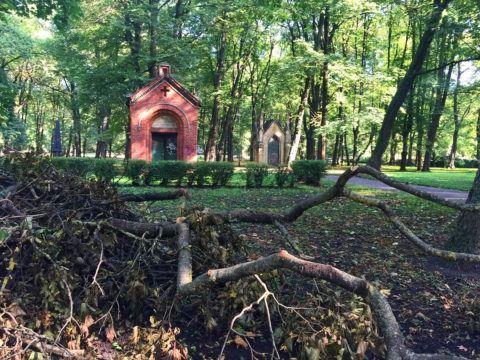 Большое кладбище, Рига, Латвия