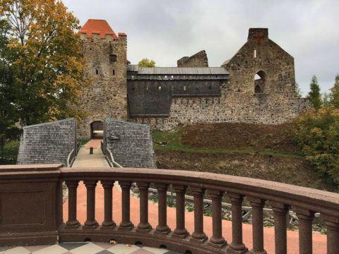 Сигулдский замок Ливонского ордена, Латвия