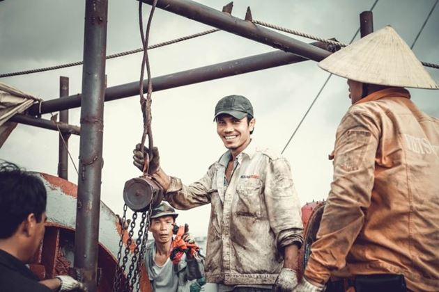 вьетнамские рыбаки