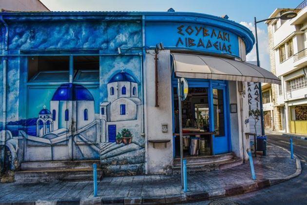 кафе на Кипре