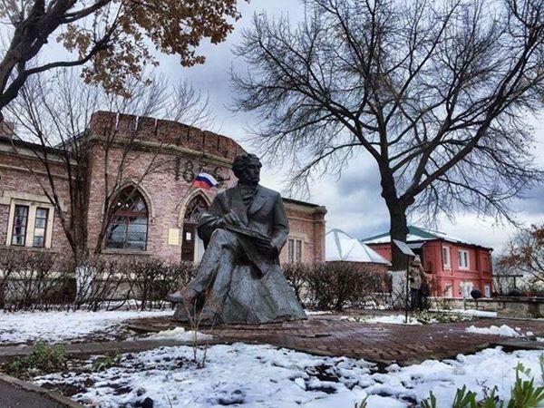 Памятник Пушкину, Оренбург