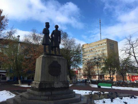 Памятник Пушкину и Далю, Оренбург