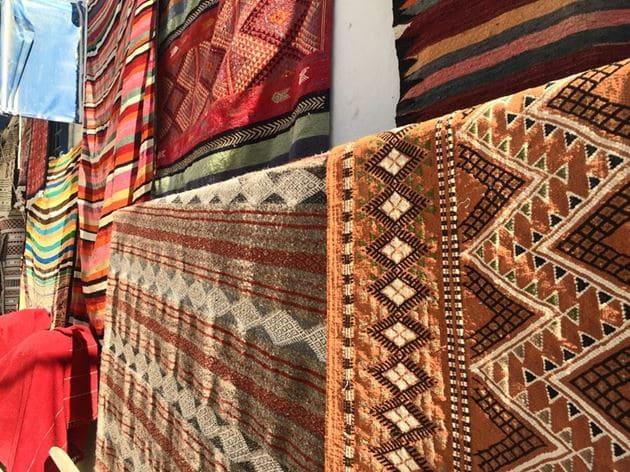шерстяные и шелковые ковры