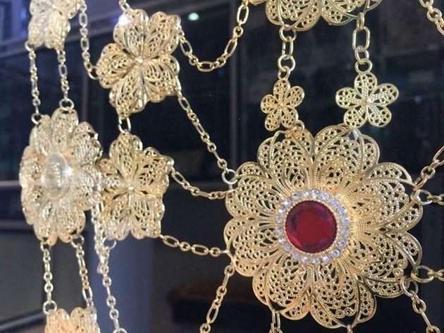 украшения из серебра, золота