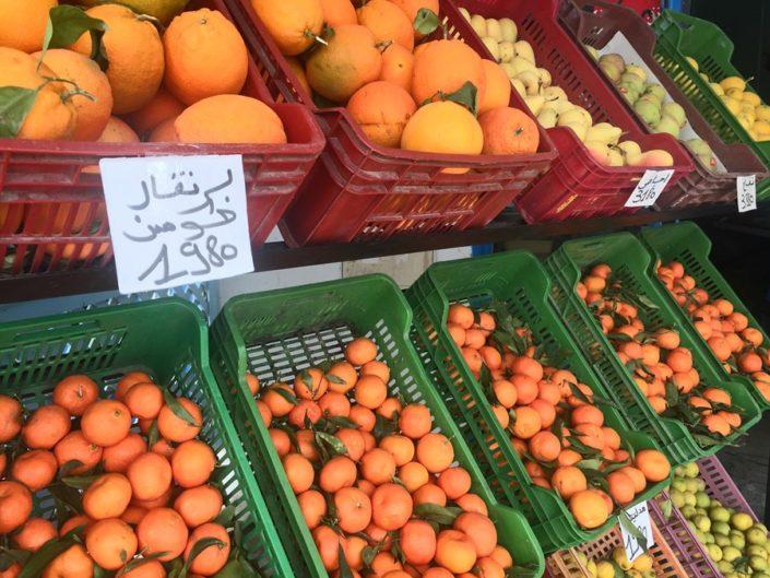 Фрукты, Тунис