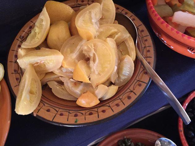 Соленые лимоны, тунисская кухня