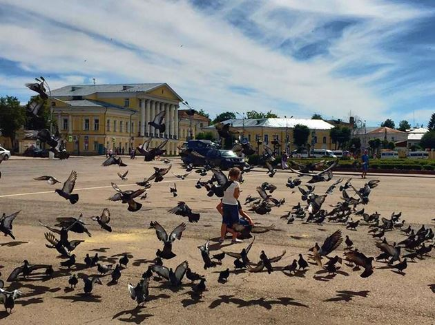 Кострома, площадь