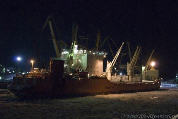 В Дудинском морском порту