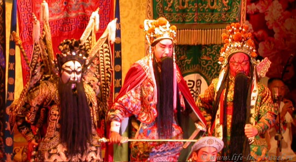 Китай, Пекин. Пекинская опера
