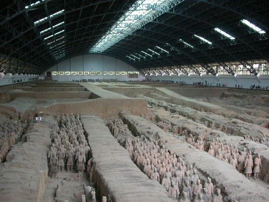 Китай. Сиань, Терракотовая армия