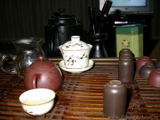 Китай. Чайная церемония