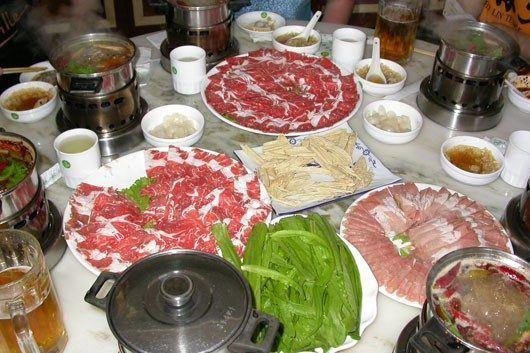 Китай, Шаолинь, Денфенг, китайский обед