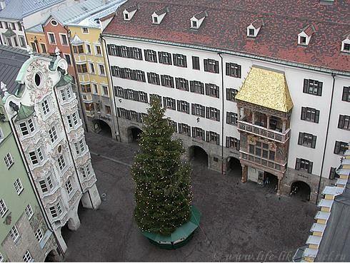 Австрия, Инсбрук, Золотая крыша