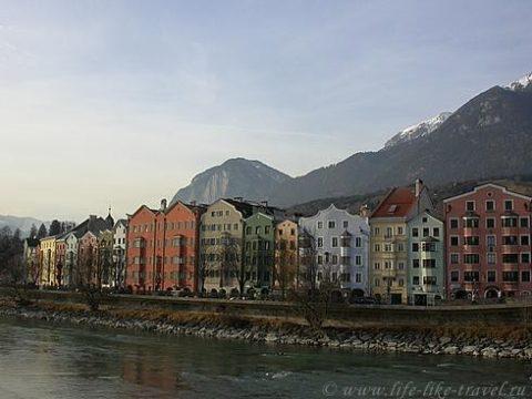 Австрия, Инсбрук, набережная