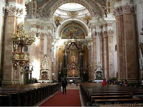 Австрия, Инсбрук, церковь Св. Якоба