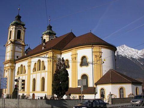 Австрия, Инсбрук, базилика Вильтен