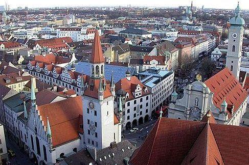 Мюнхен и достопримечательности центральной части города