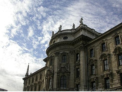 Германия, Мюнхен, дом правосудия