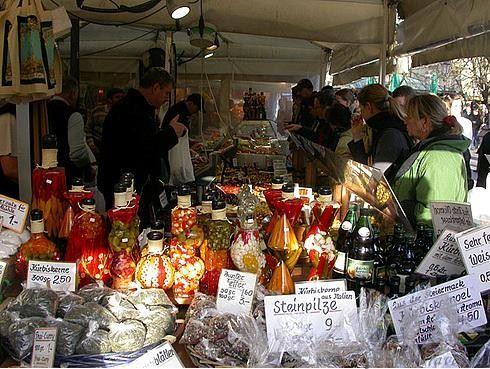 Германия, Мюнхен, рынок Виктуалиенмаркт