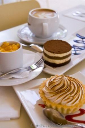 Филиппины, остров Боракай, десерты кафе Лимон