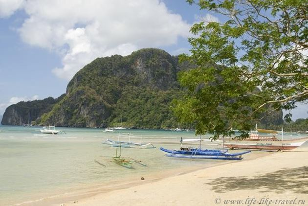 Фото Филиппины, остров Палаван, Эль Нидо, бухта Бакит