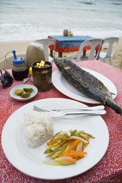 Филиппины, остров Палаван, Эль Нидо, барбекю из тунца