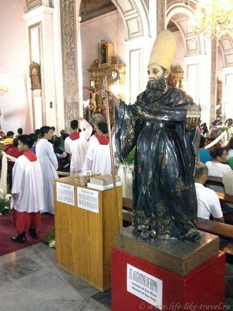 Филиппины, Манила, фестиваль Ати-Атихан, чествование Святого Ниньо - младенца Христа