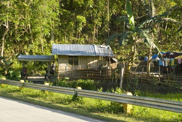 Филиппины, Бохол, Дорога из Тагбиларана в Лобок