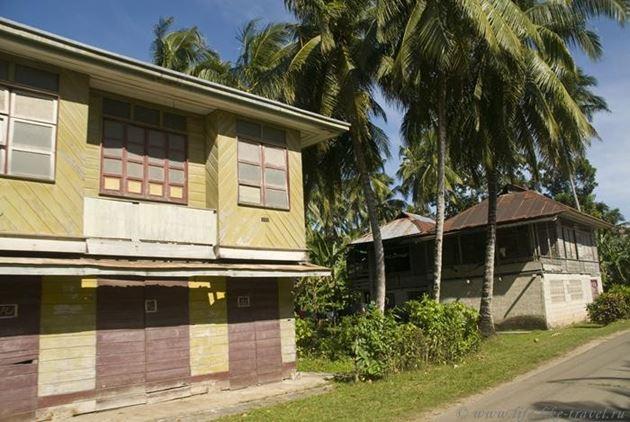 Филиппины, Бохол, Панглао, Традиционное жилье местных жителей