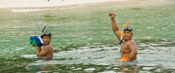 Филиппины, Бохол-Панглао, дайвинг на Алона Бич