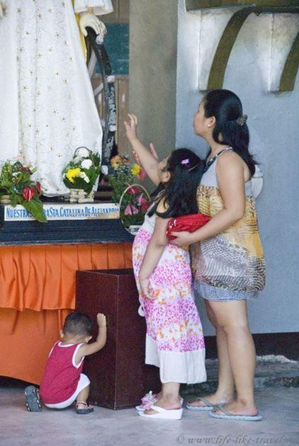 Кафедральный собор Думагете, остров Негрос, Филиппины