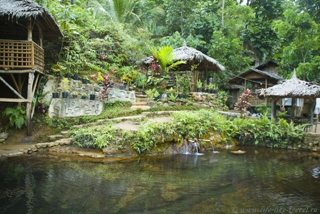 """Горячие источники """"Рэд Стоун"""", Думагете, остров Негрос, Филиппины"""