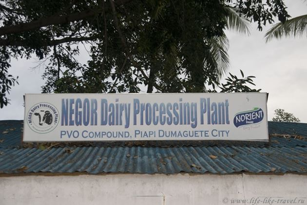 Молочный завод Нориент, Думагете, Филиппины