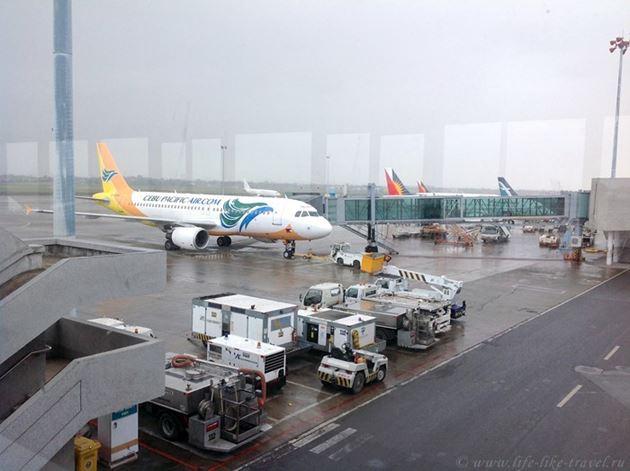 Самолет компании Себу Пасифик, Филиппины